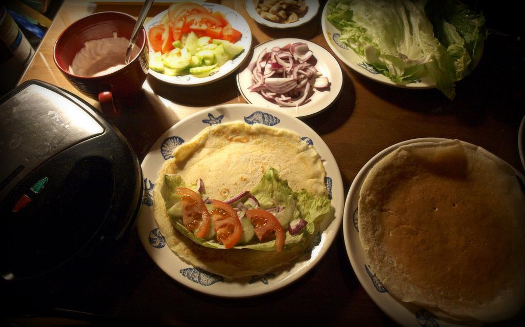 Tortilla po europejsku czyli łatwy obiad bądź szybka kolacja