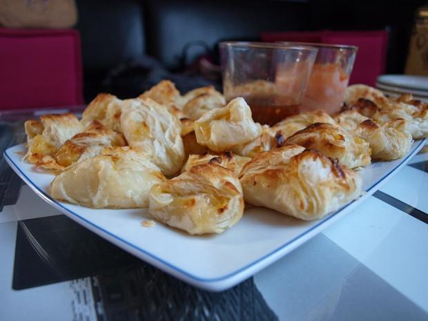 Ciasteczka na słono (serowo-porowe)