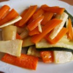 Warzywa z pieca