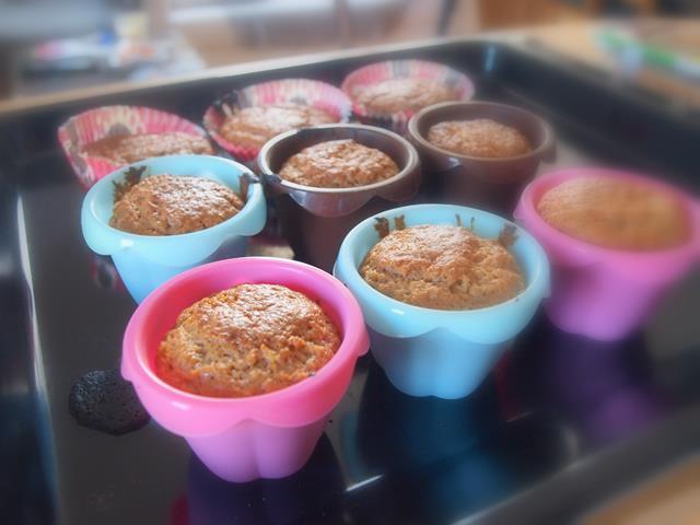 Muffinki korzenne ze śmietankowym nadzieniem