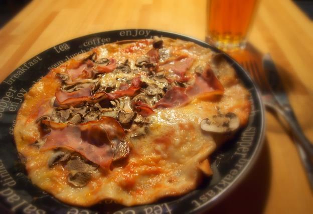Pizza w 5 minut (+15 pieczenia)
