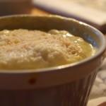 Porcyjki kolacyjki (szpinak zapiekany w kokilkach z jajkiem i parmezanem)