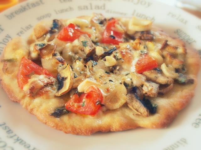 Pizza z pleśniakiem