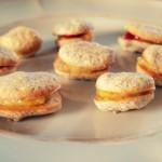 Kwaśno-słodkie makaroniki cytrynowo-malinowe