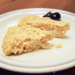 Angielski śniadaniowy sernik owsiankowy