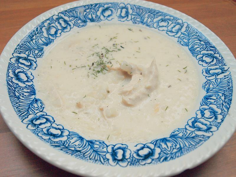 Zupa z kurczaka na jogurcie