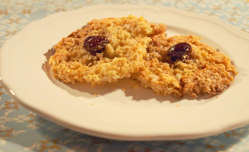 Ciastka owsiano-kokosowo-ryżowe
