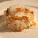 Zapiekanka ryżowo-jabłkowa z cynamonem
