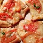 Prawdziwa mocno chrupiąca włoska pizza