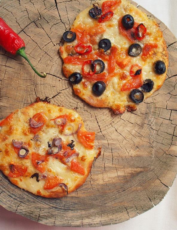 Ekspresowe mini pizze