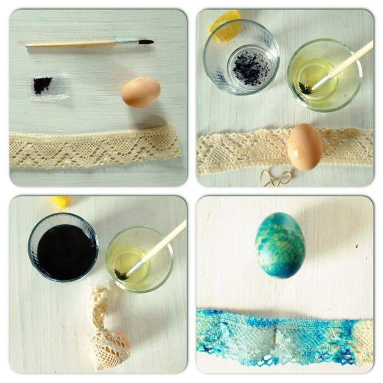 Pomysł na farbowanie jajek