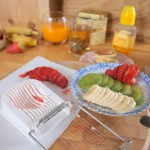 Tip na dziś – jak łatwo kroić owoce, plastrownica