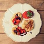 Pankejki owsiano-ryżowo-jabłkowe