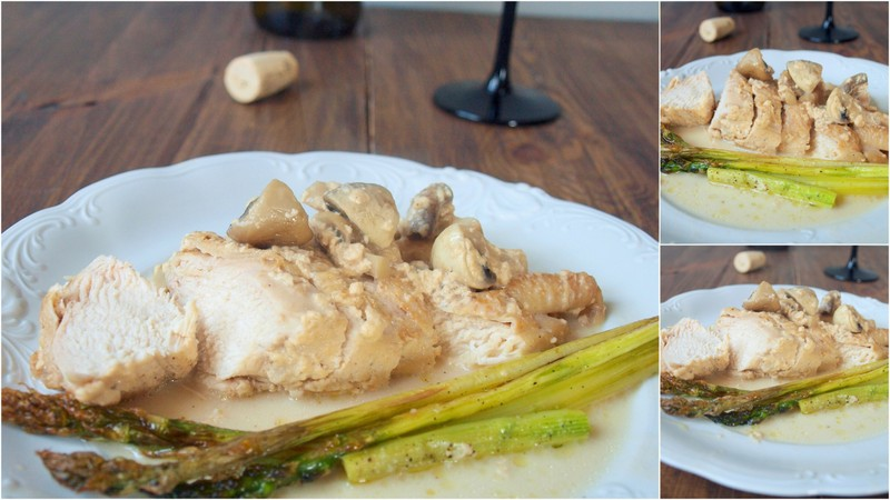 Kurczak z Bresse w śmietanie wg Georges Blanc (***)