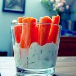 Imprezowe marcheweczki w dipie czyli jak podjadać i nie tyć