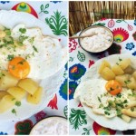 Białe szparagi z ziemniakami i jajkiem (wiosenny obiad)
