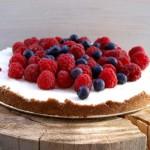 Bez pieczenia tarta/sernik z letnimi owocami CUDO bez wysiłku i trudności