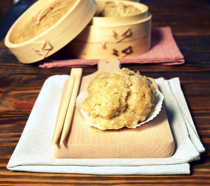 Bułeczki z mleczka kokosowego na parze (Jamie Oliver)