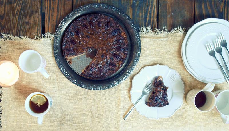 Pecan pie to die for!... Ciasto z orzechów pekan na spodzie krucho-sernikowym