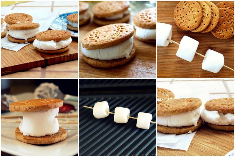 Markizy z grillowanymi marshmallows