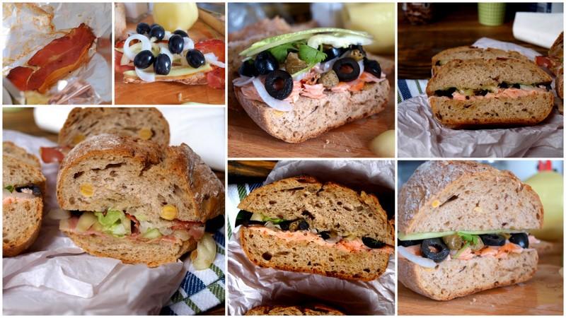 Pain Bagnat - cudowne kanapki na piknik