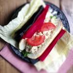 Idealna kanapka z sałatką z tuńczyka