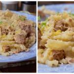 Cytrynowy makaron z tuńczykiem (kolejny, przyrządzany tyle ile czas gotowania pasty)