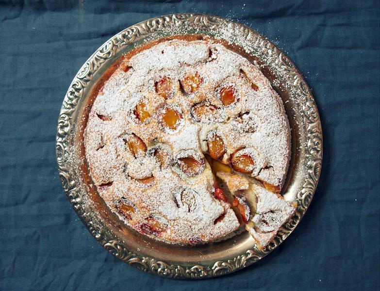 Najprostsze ciasto ze śliwkami, bez miksera, miarek i wag
