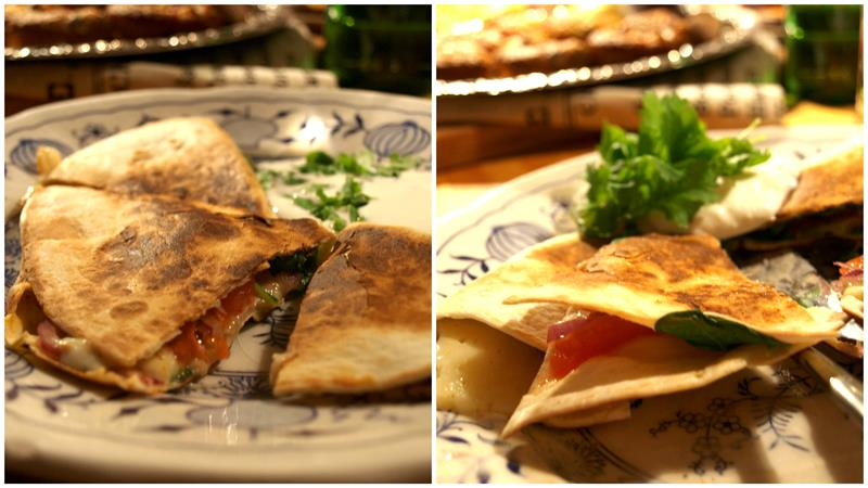 Quesadilla czyli odrobinę bardziej niż kanapki fikuśna przekąska w 5 minut