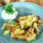 Szybka przepyszna, zdrowa i chrupiąca przekąska z pieczonych ziemniaków