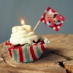 Trzecie Urodziny CooLinarnego! ♥♪♫ Babeczki-torciki w ostatniej chwili  – gryczane z twarożkowym kremem