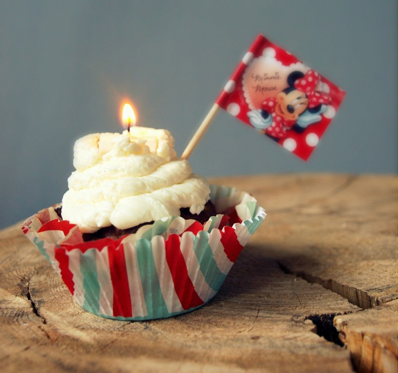 Trzecie Urodziny CooLinarnego! ♥♪♫ Babeczki-torciki w ostatniej chwili  - gryczane z twarożkowym kremem
