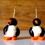 Koreczki pingwinki