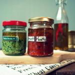 Pesto set jako gift. Pesto zielone i pesto czerwone – przepisy oryginalne