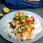 Ryba w stylu indyjskim (20min dish)