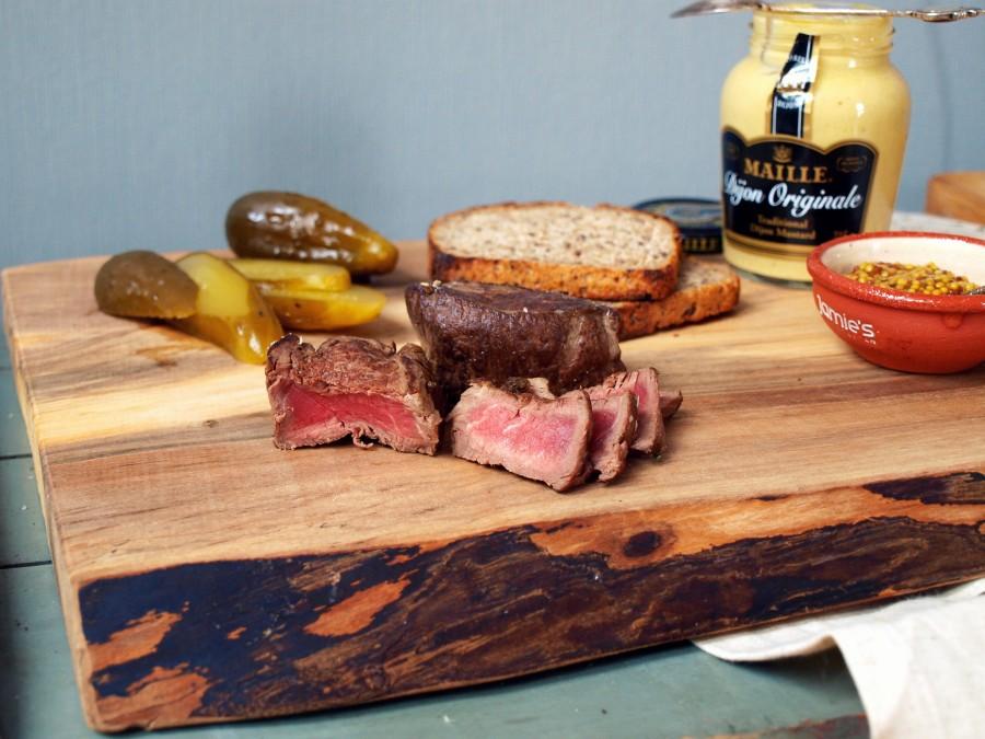 Filet mignon i posiłek doskonały