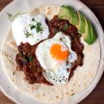 Eggs Rancheros czyli Noworoczne Śniadanie po Meksykańsku