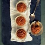 Dietetyczne, zdrowe i przeprzepyszne muffinki z mąki ryżowej na mleczku kokosowym o smaku masła orzechowego