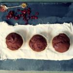 Muffinki czekoladowe zwykłe i dietetyczne