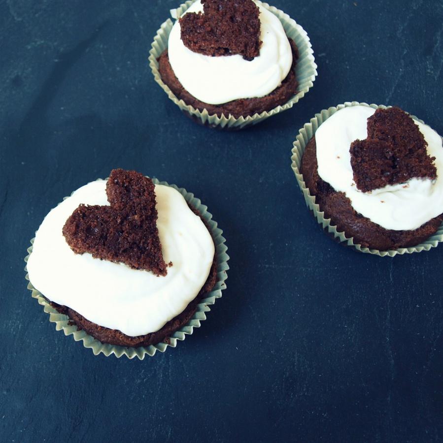 Walentynkowe cupcakes