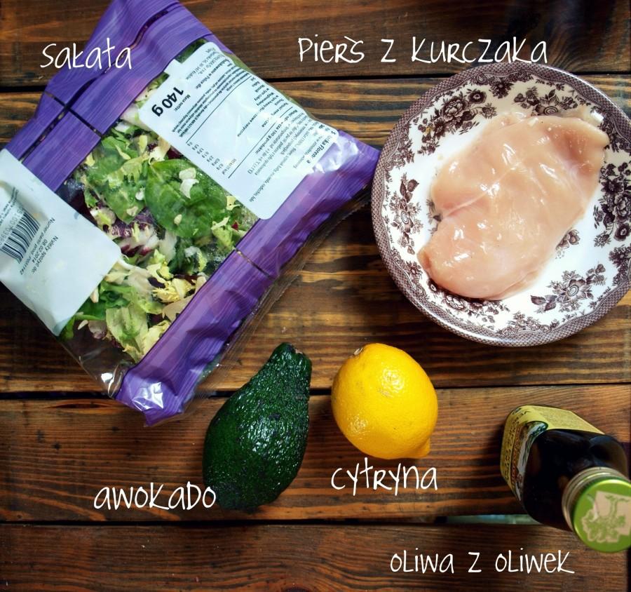 Myślisz, że nie umiesz gotować? zobacz jak bardzo się mylisz. Obiad z 5u prostych składników (grillowana pierś z kurczaka z sałatą i vinaigrette)