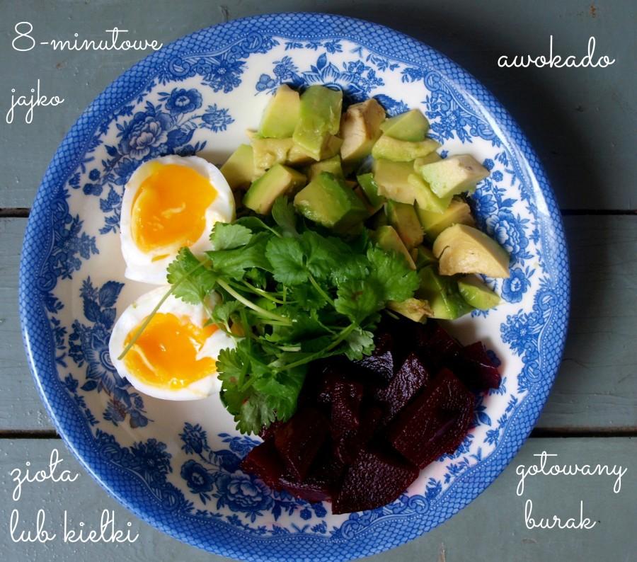 Superzdrowe śniadanie/brunch/lunch biegacza