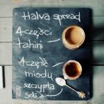 Smarowidło chałwowe/Masło sezamowe/Tahini/Halva spread