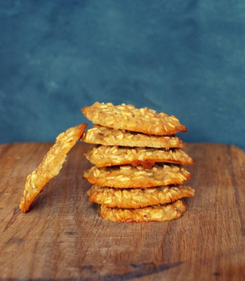 Najlepsze i najłatwiejsze ciasteczka owsiane jakie jedliście (z syropem klonowym)