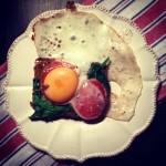 Jajka smażone na chlebie czyli coś między croque madame a tostem francuskim