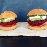 Vege burger/Beetroot burger/Burgery z buraka