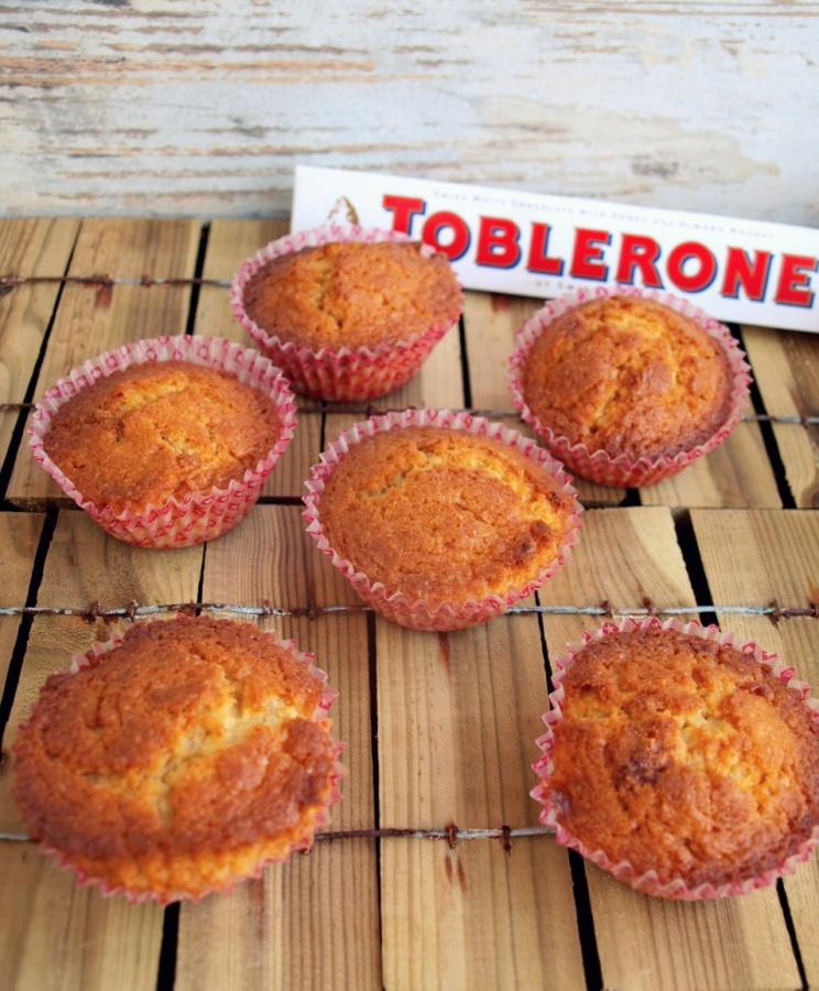 Muffinki z Toblerone