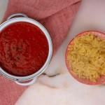 Dietetyczna hiperprosta zupa pomidorowa z pieczoną papryką (lub gazpacho) z twistem
