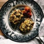 Niezbyt reprezentatywne, ale pyszne wegetariańskie danie z 3 składników