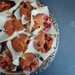 Wilgotne muffinki truskawkowe z twarogiem